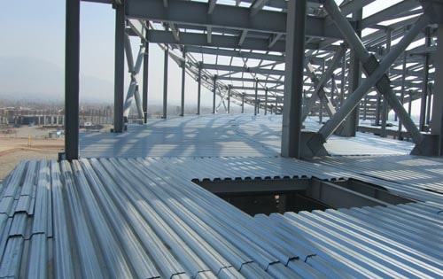 Compound deck steel deck