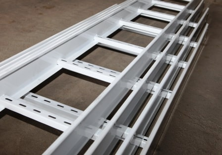 Tray and cable ladder